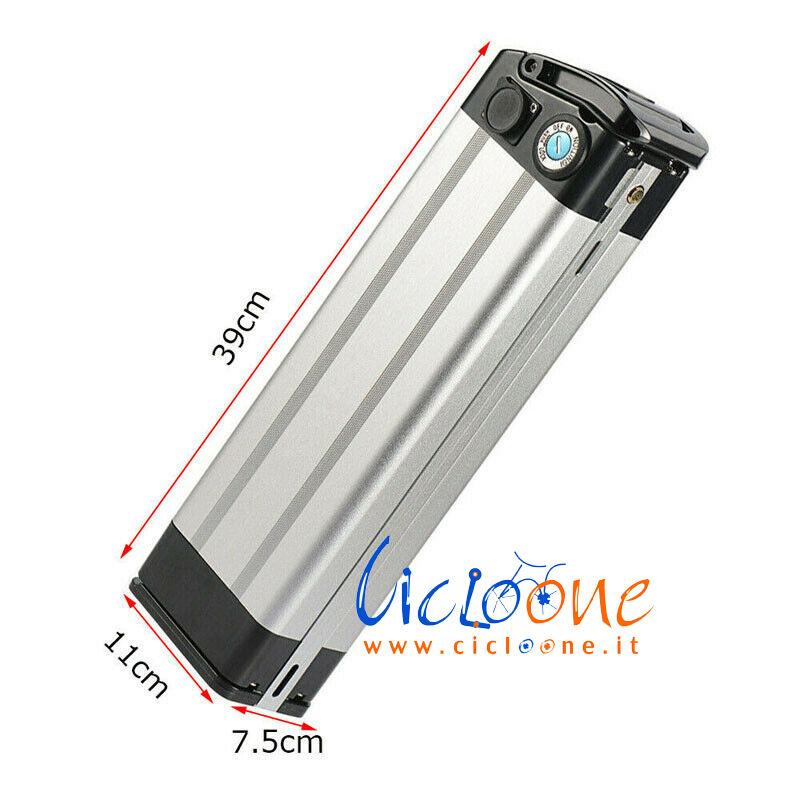 batteria litio rettangolare silver