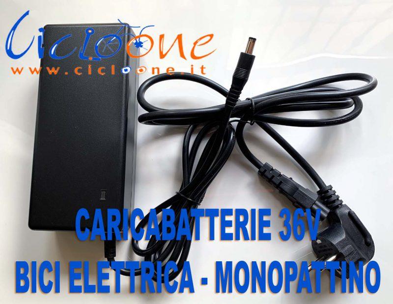 caricabatterie bici elettrica monopattino