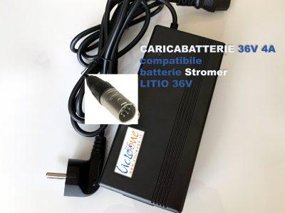 Stromer carcabatterie litio 36V