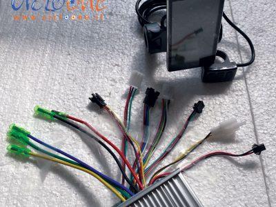 centralina 48V 750V con display ultrapiatto