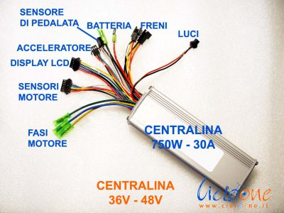 Centraline 750W