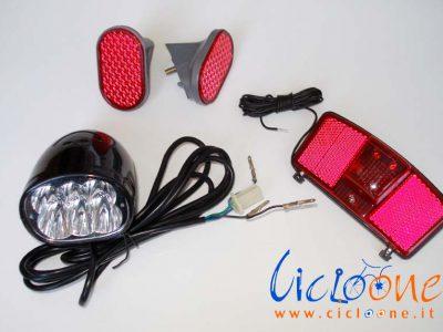 kit luci per triciclo
