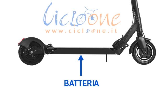 batteria monopattino litio sostituzione