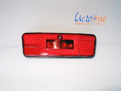 bici elettrica luce posteriore rossa