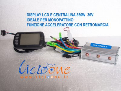 Centralina con Display (kit) 350W