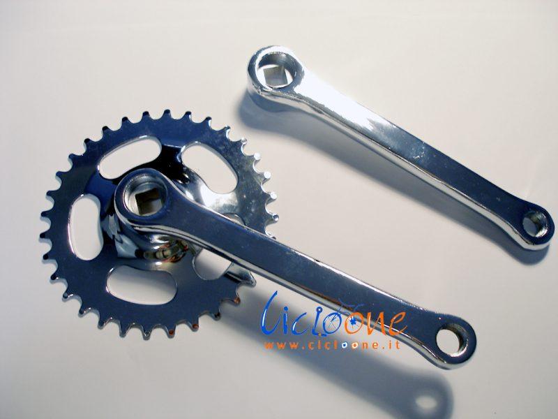 guarnitura corona pedali bici elettrica