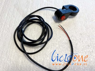 pulsante accensione bici elettrica