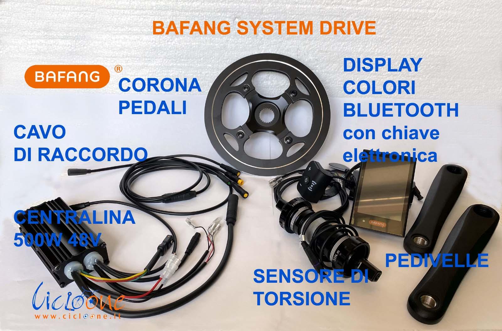 bafang system drive sensore torsione