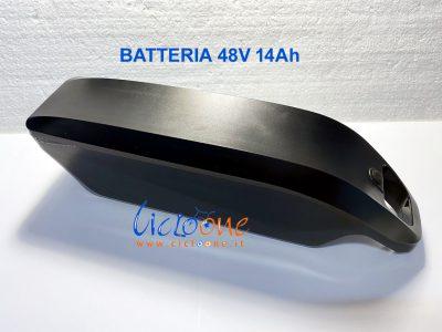 batteria montaggio tubo 48V