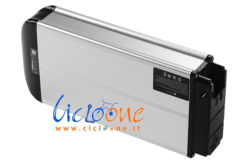 batteria portapacchi silver 36V new bi