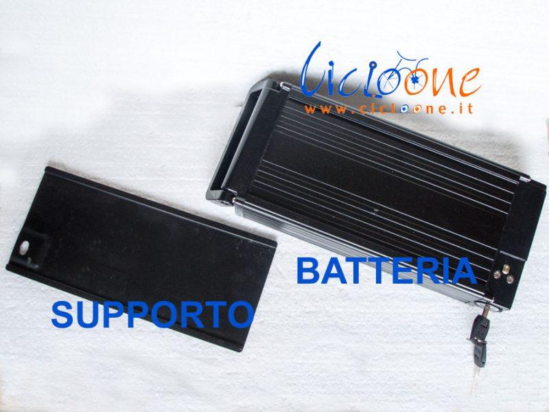 batteria triciclo nera piatta